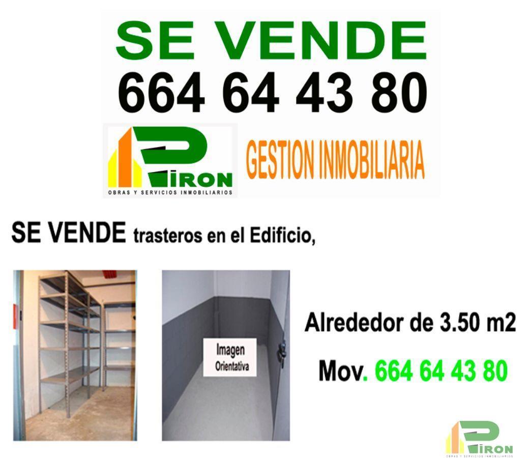 For sale of storage room in La Hoya de Lorca