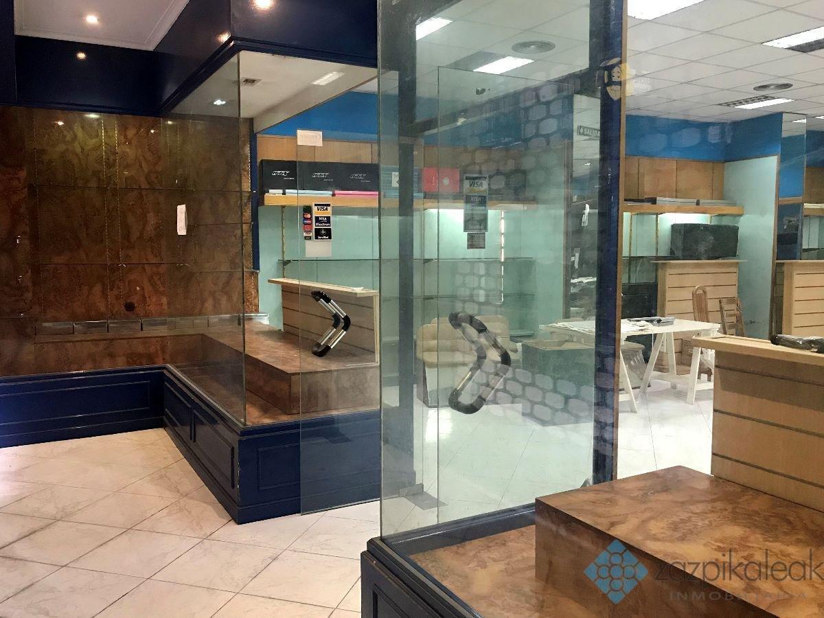 Alquiler de local comercial en Bilbao