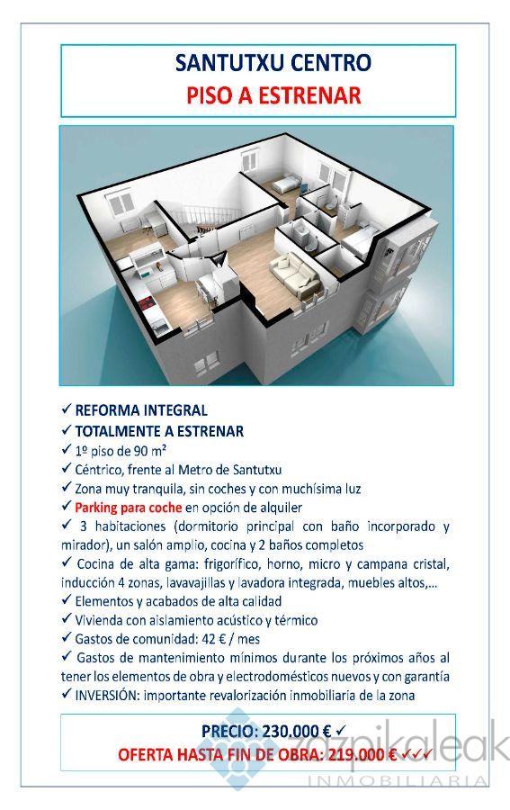 Zu verkaufen von wohnung in  Bilbao