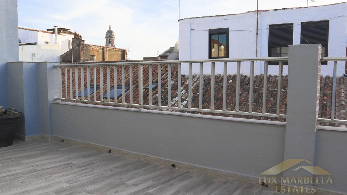 Salg av penthouse i Málaga Centro