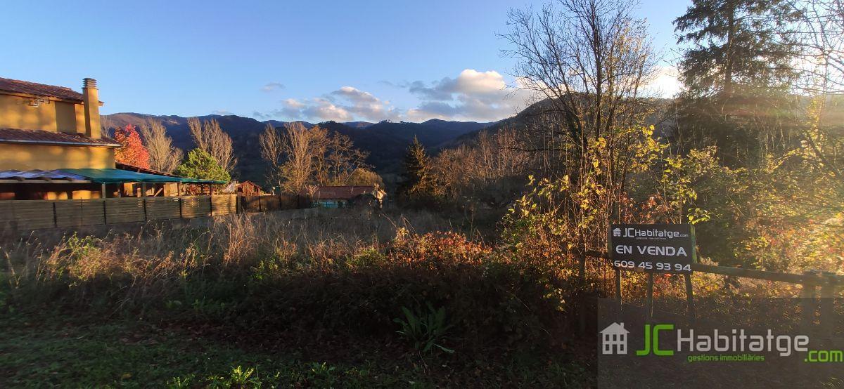 Venda de terreny a Vallfogona de Ripollès