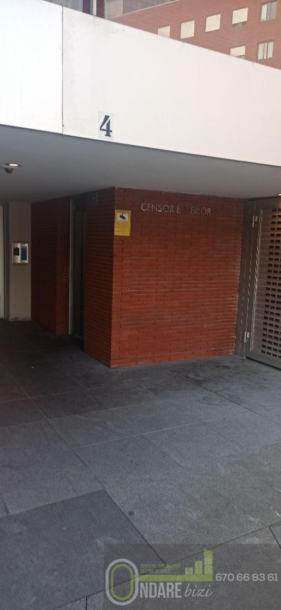 Alquiler de garaje en Bilbao