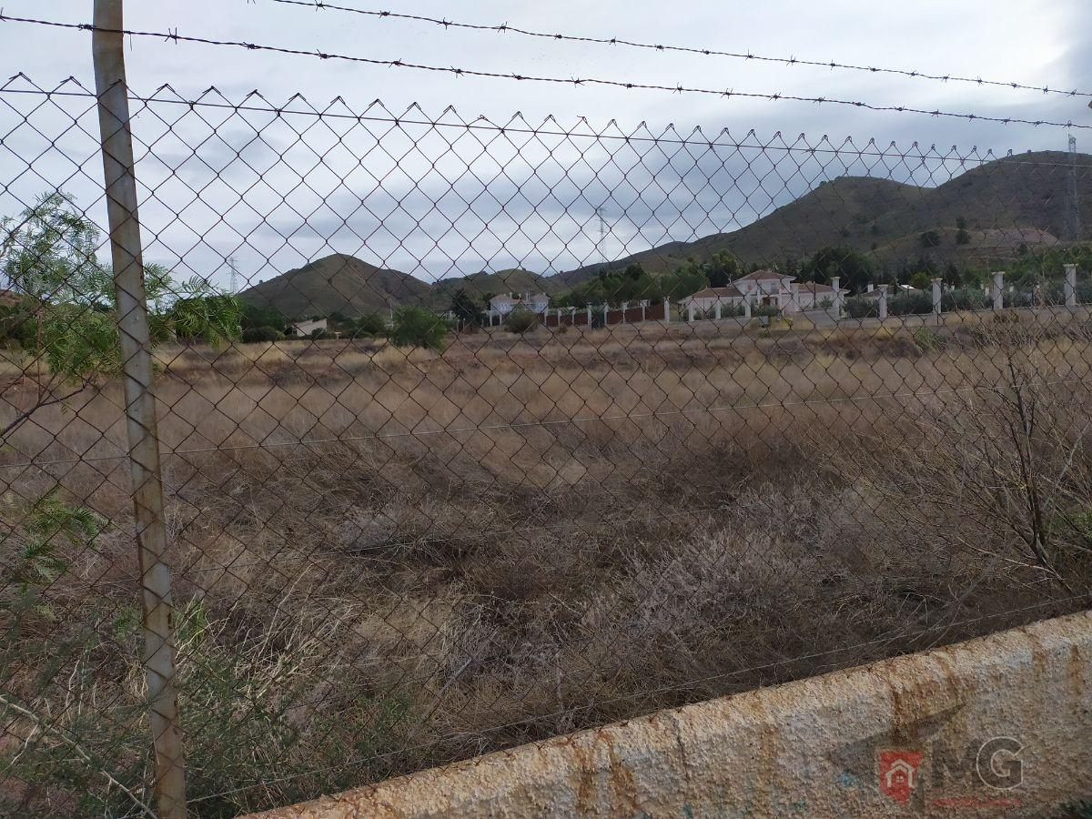 For sale of land in Lorca