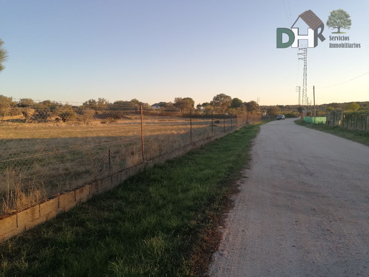 For sale of land in Arroyo de la Luz