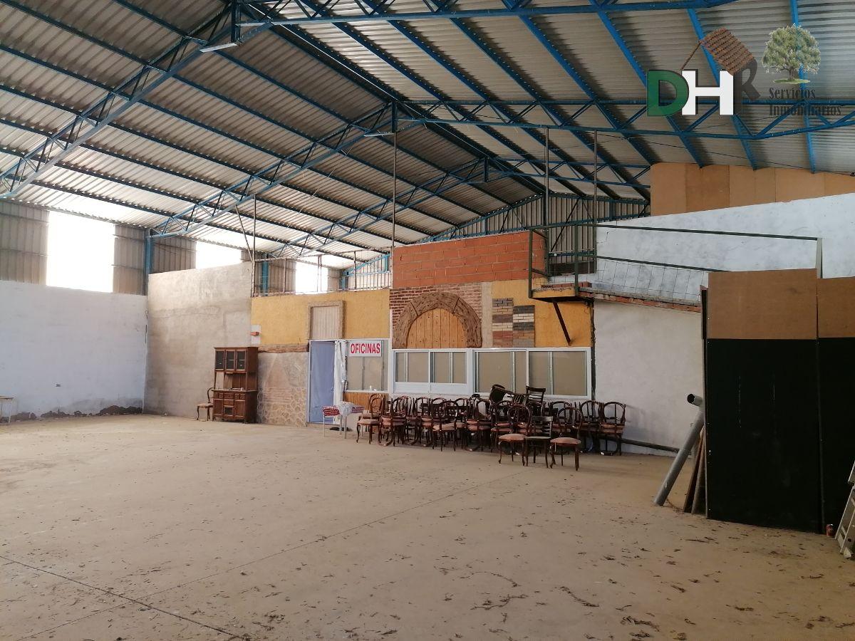 Venta de nave industrial en Cáceres