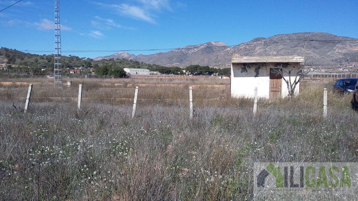 For sale of land in Hondón de las Nieves
