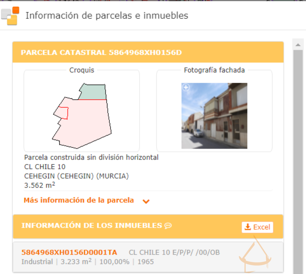 For sale of land in Cehegín