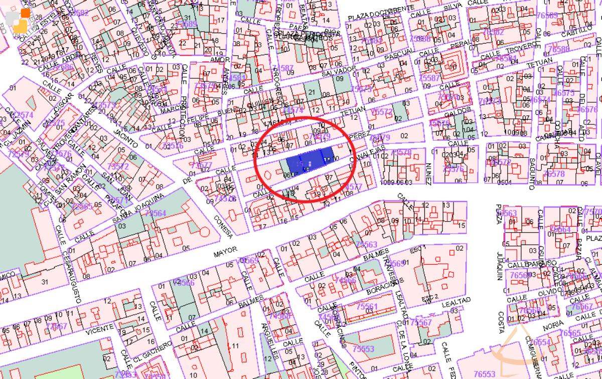 For sale of land in La unión
