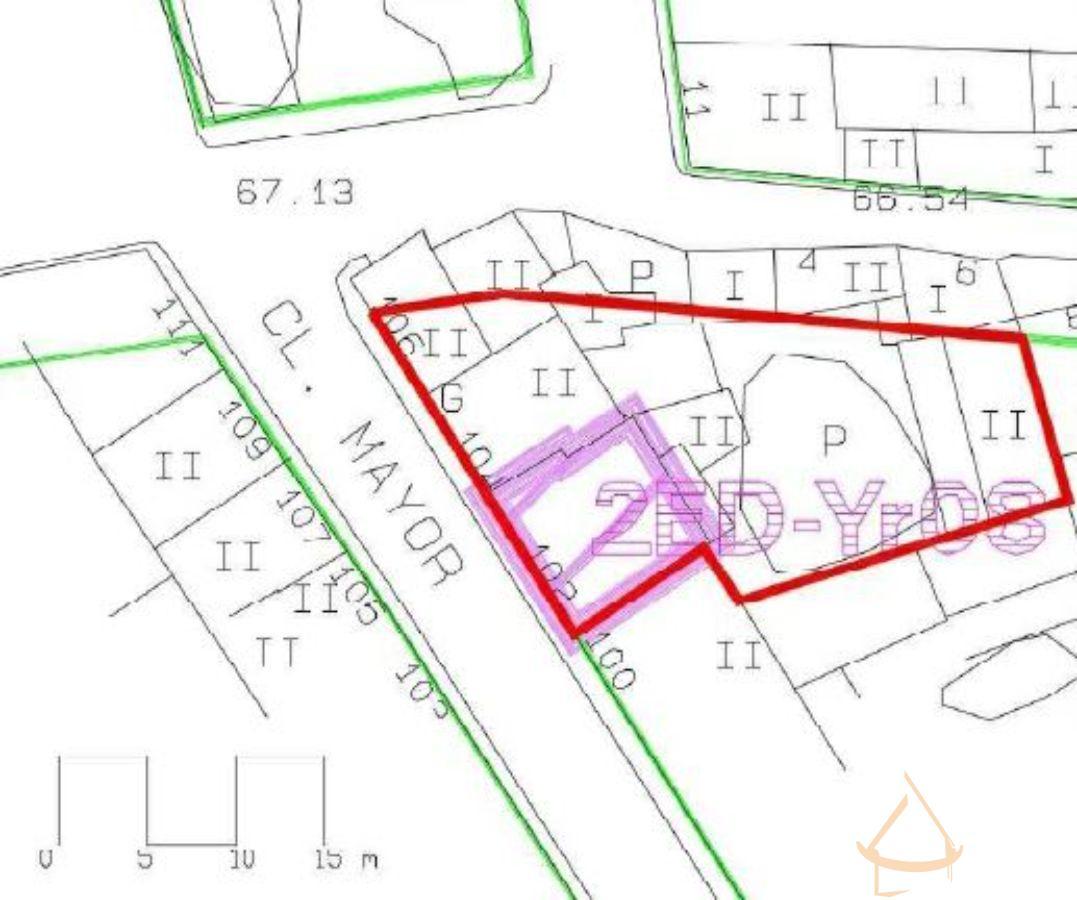 For sale of land in La Ñora