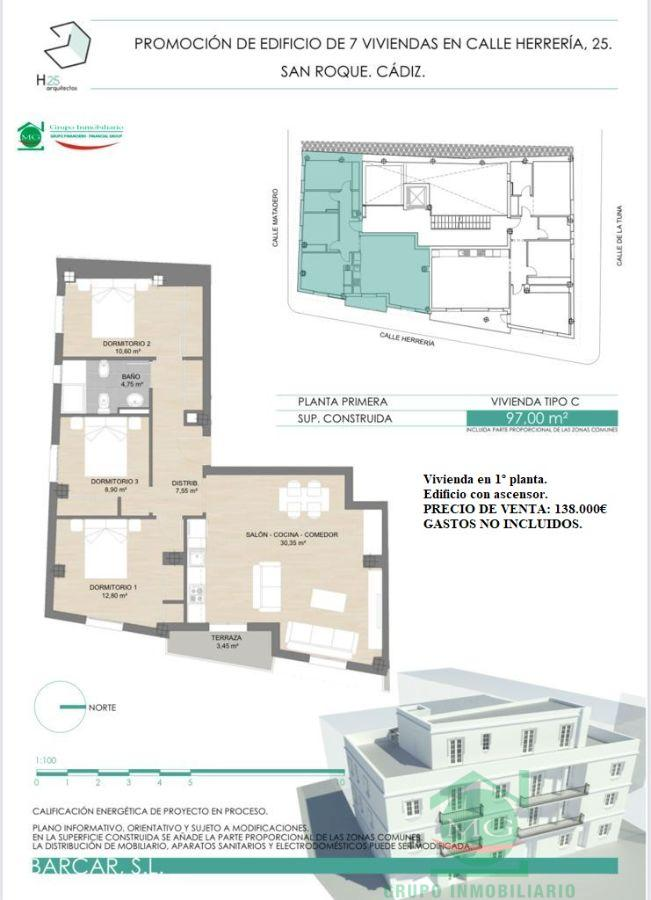 For sale of new build in San Roque